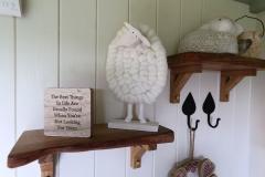 Inside the Shepherd' Hut