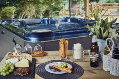 The Bach Hot Tub Relax and unwind